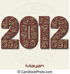 2012, imagen, maya, r, año