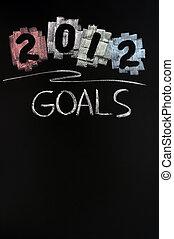 2012 New year goals