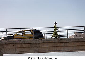 2012, November. Saint Louis, Senegal Cityscape