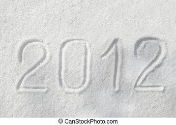 2012 on the snow