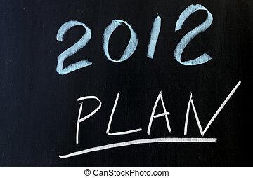 2012 plans