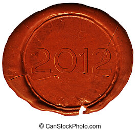 2012, selo, ou, selo