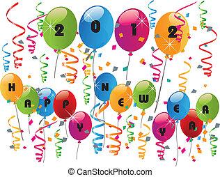 2012, szczęśliwy nowy rok