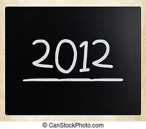 2012, tableau, classe