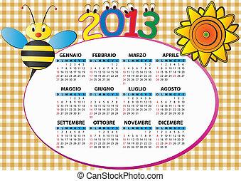 2013, 蜂, そして, ひまわり