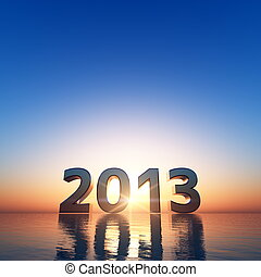 2013 and sunrise
