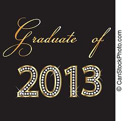 2013, diplômé