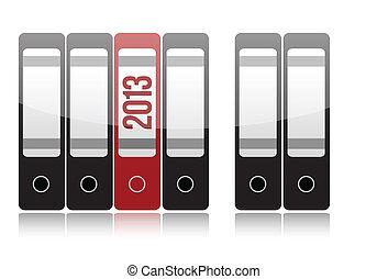 2013 folder selection