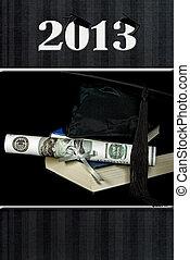 2013 Graduation with cash diploma