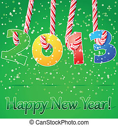 2013 Happy New Year background.