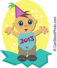 2013 New Year Baby