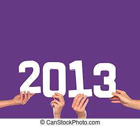 2013 New Year card or invitation