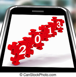 2013 On Smartphone Showing Future Visions