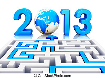 2013 year concept
