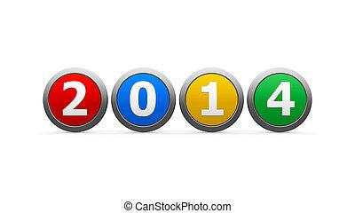 2014, ícones