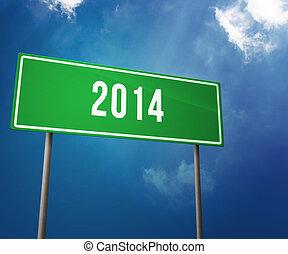 2014, שנה, תמרור