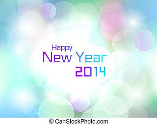 2014, カラフルである, 幸せ, 新しい, 火炎信号, 年