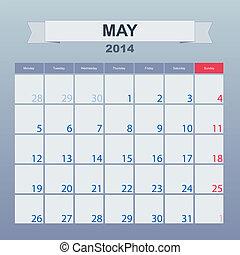 2014, カレンダー, monthly., 3月, スケジュール