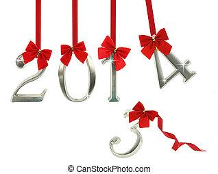 2014, 來, 新年