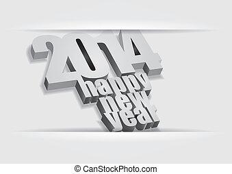 2014, 幸せ, -, 新年