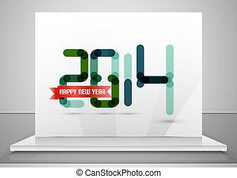 2014., 新年おめでとう, デザイン, テンプレート