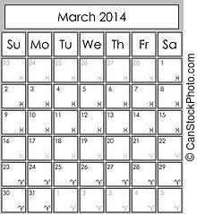 2014, 立案者, 3月
