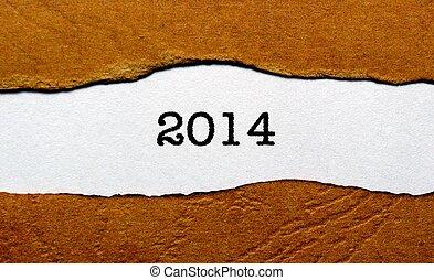 2014, année