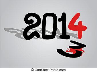 2014, banner