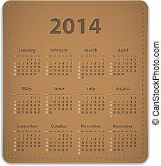 2014 calendar