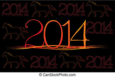 2014, cavallo, -, anno
