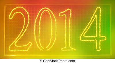 2014, clorful, segno
