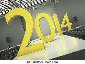 2014, concept, jaar