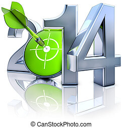 2014, doel