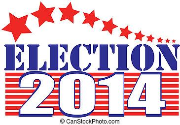 2014, eleição, listras estrelas