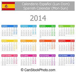2014, español, type-1, calendario