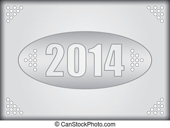 2014, felice, -, anno nuovo
