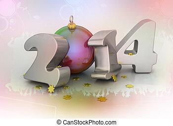 2014, Feliz, Novo, ano