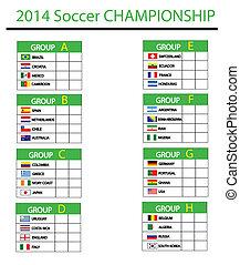 2014, futball, bajnokság