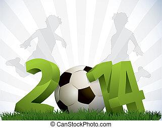 2014, futebol, cartaz