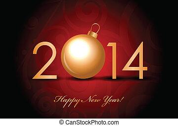 2014, gelukkig nieuwjaar