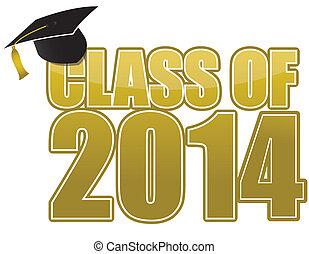 2014, graduación