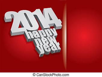 2014 - Happy New Year