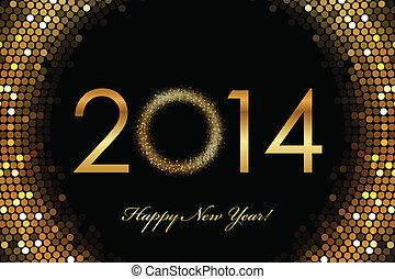 2014 Happy New Year - Vector - 2014 Happy New Year 2014...