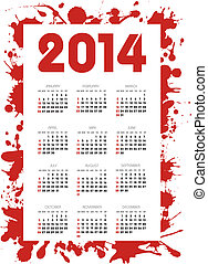 2014, kalenderjahr