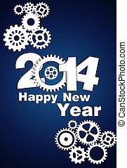 2014 Mechanical Gear new year