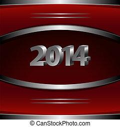 2014, neu , hintergrund, jahr