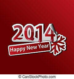2014 New Year background
