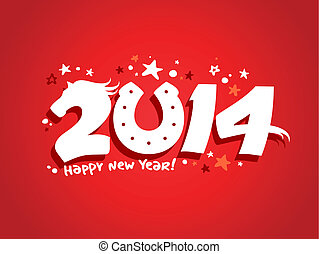 2014 new year design.