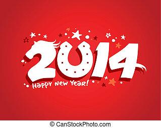 2014 new year design.
