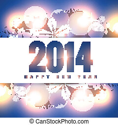 2014 new year design